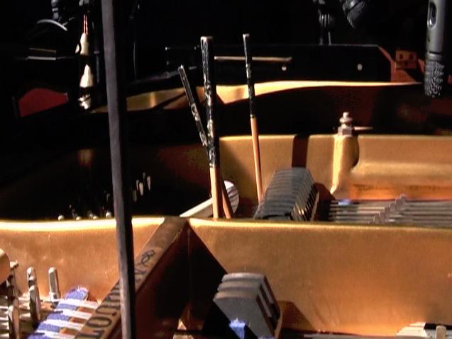 Piano and Chopsticks